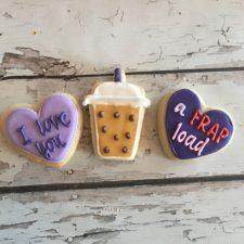 I love you a FRAP load - mini cookies!