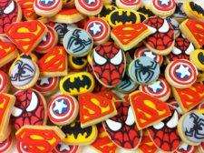 Mini Superhero Cookie assortment