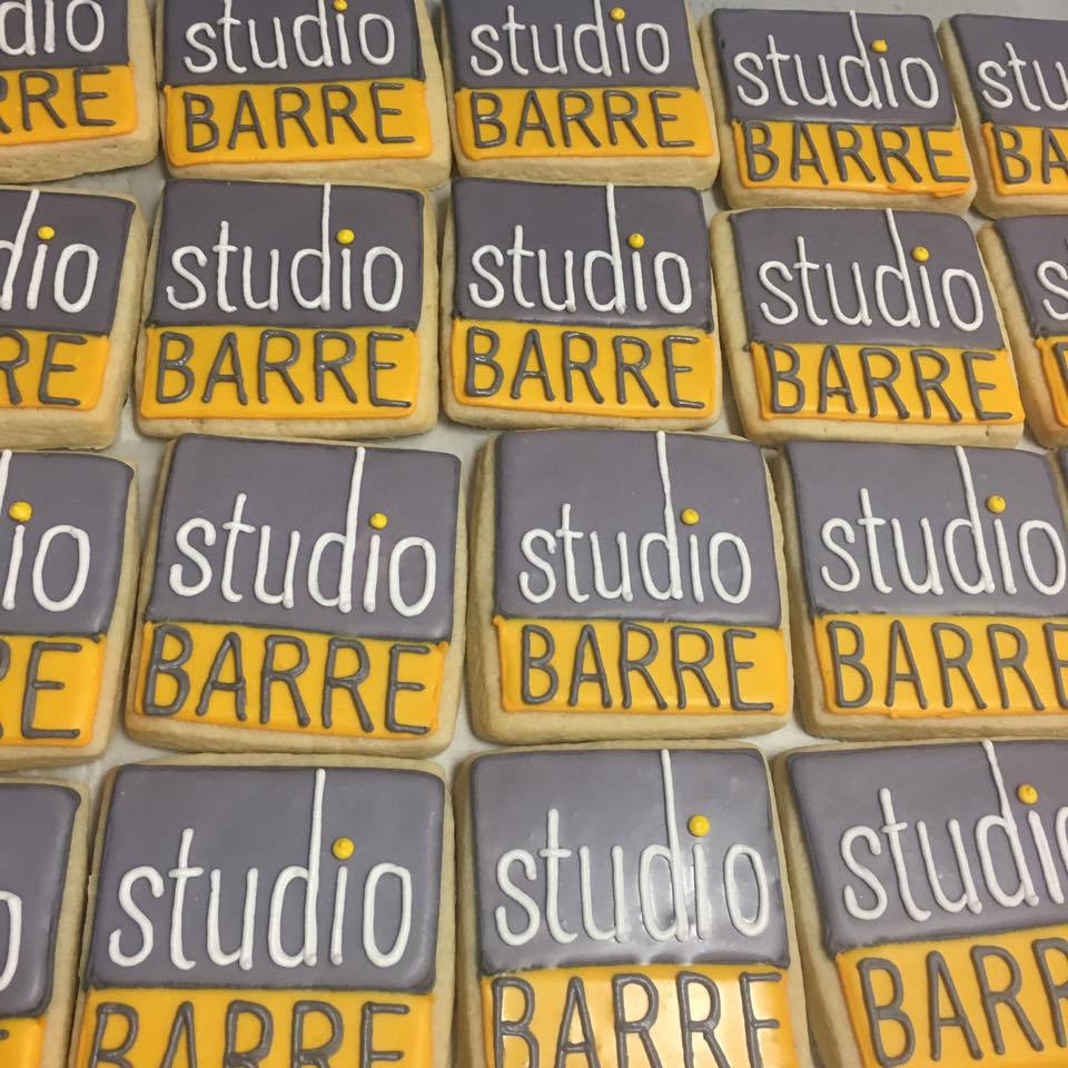 Studio Barre logo cookies