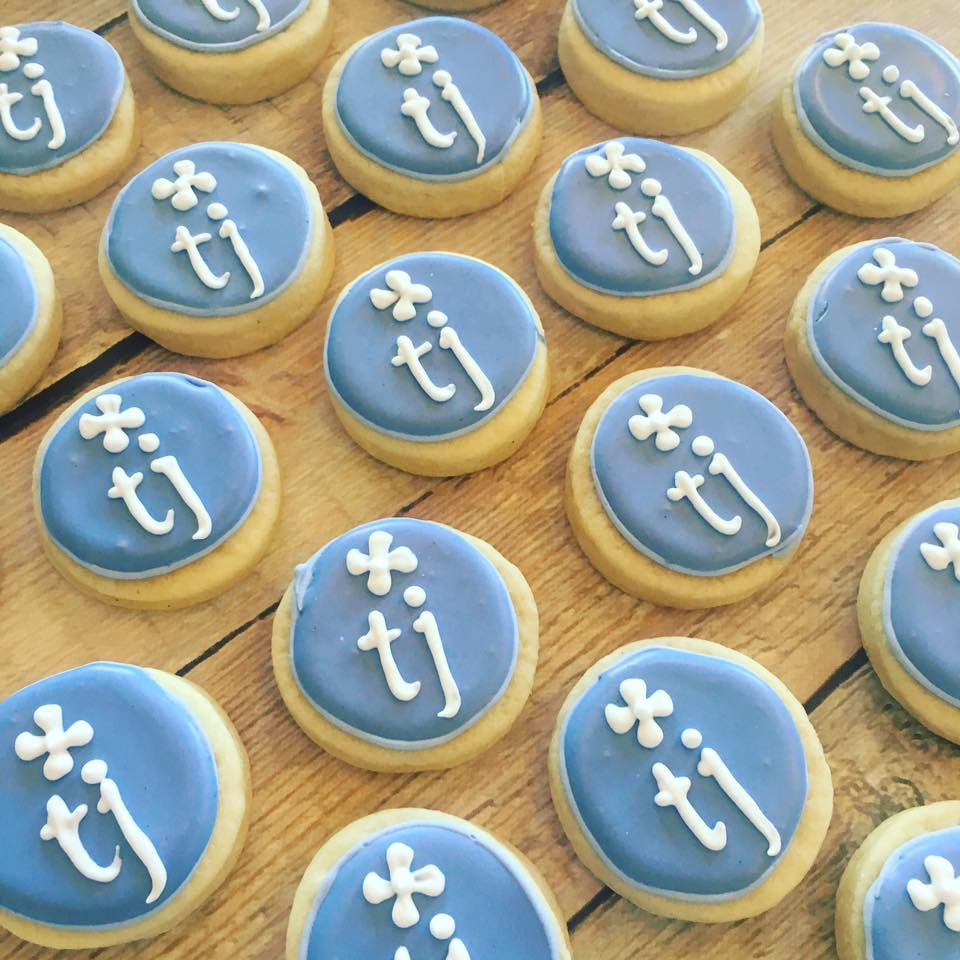 Mini logo cookies