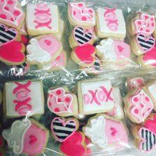 Mini xoxo valenintes 4 pack cookies