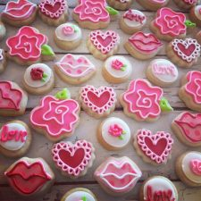 Mini valentines cookie assortment