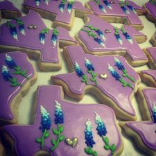 Texas Bluebonnet Cookies