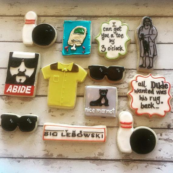 The Big Lebowski cookie set