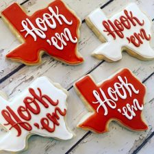 Hook 'em University of texas cookies
