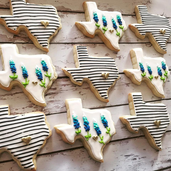 Texas Chic Gift Cookies