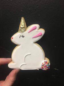 Bunny-corn cookies