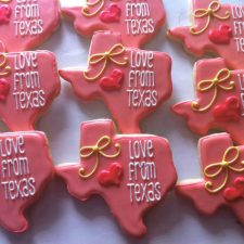 Love From Texas Cookies