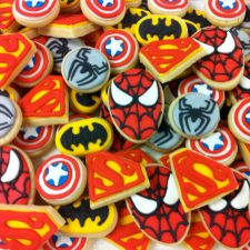 Mini Superhero Cookie assortment