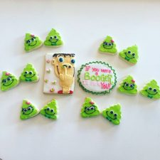 If you were a booger valentines cookies