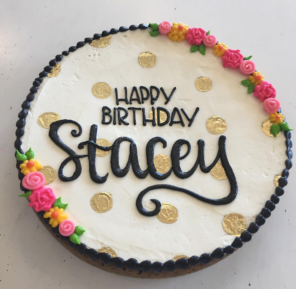 Birthday Cookie Cake By Hayley Cakes And Cookies