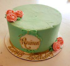 raina simple mint cake