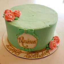 raina simple mint cake