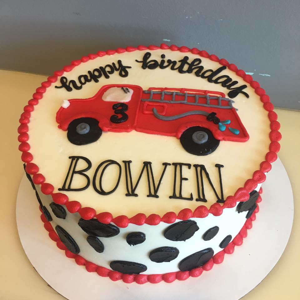 Dalmation Print Firetruck Cake Hayley Cakes And Cookieshayley