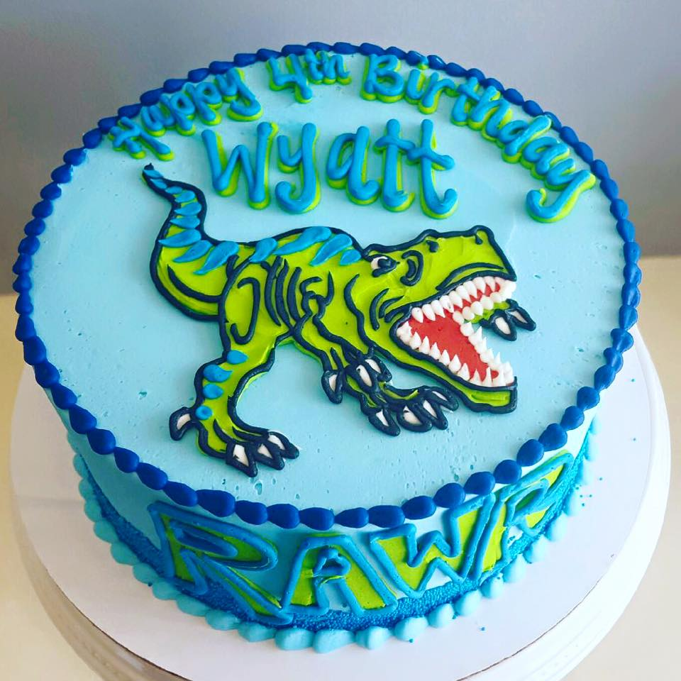 Sensational T Rex Rawr Cake Hayley Cakes And Cookieshayley Cakes And Cookies Personalised Birthday Cards Paralily Jamesorg