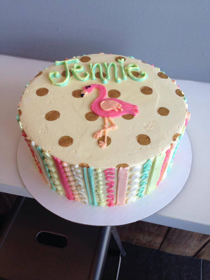 Pastel Flamingo Cake Hayley Cakes And Cookieshayley