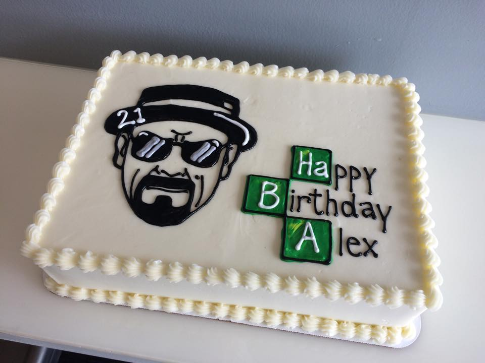 Brilliant Breaking Bad Cake Hayley Cakes And Cookieshayley Cakes And Cookies Funny Birthday Cards Online Overcheapnameinfo