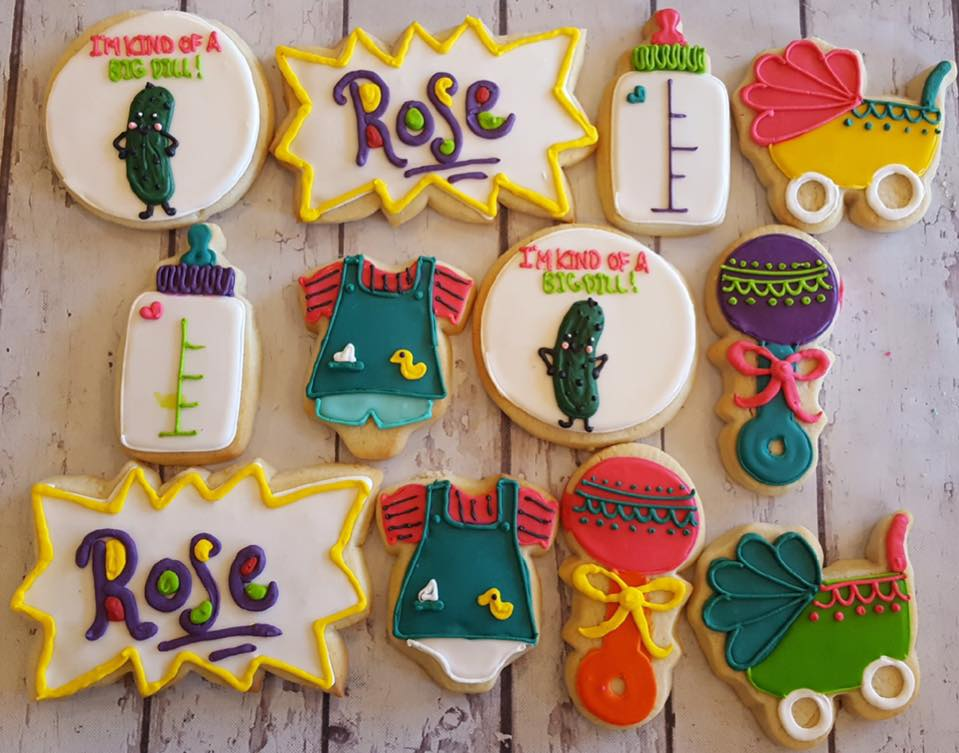 Rugrats Baby Cookies Hayley Cakes And Cookieshayley Cakes And Cookies