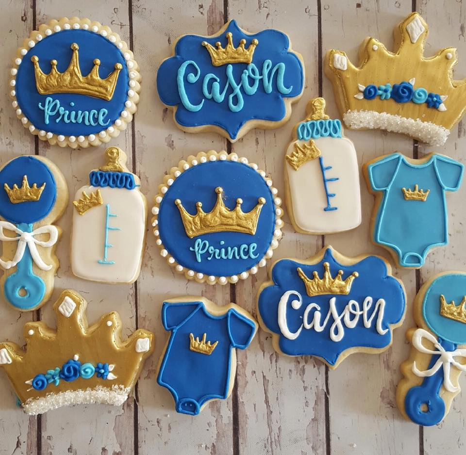 Nice ... Little Prince Baby Shower Cookies. Check Availability