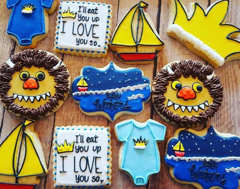 Where The Wild Things Are Baby Shower Hayley Cakes And
