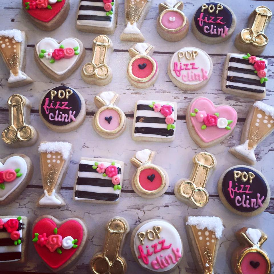 Raunchy Bachelorette Party Cookies