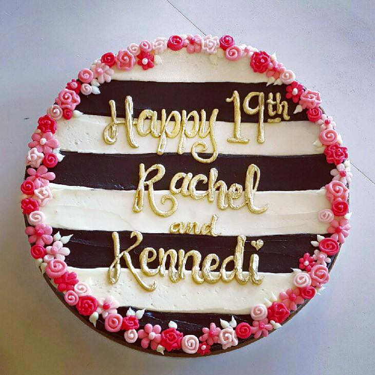 Happy 19th Rachel And Kennedi Archives Hayley Cakes And