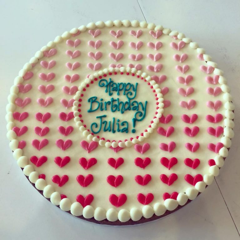 Happy Birthday Julia Archives Hayley Cakes And Cookieshayley Cakes