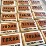 TEXAS Tourism logo cookies