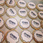 Oven Bits logo cookies
