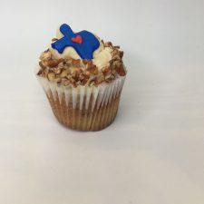 Texas Pecan cupcake