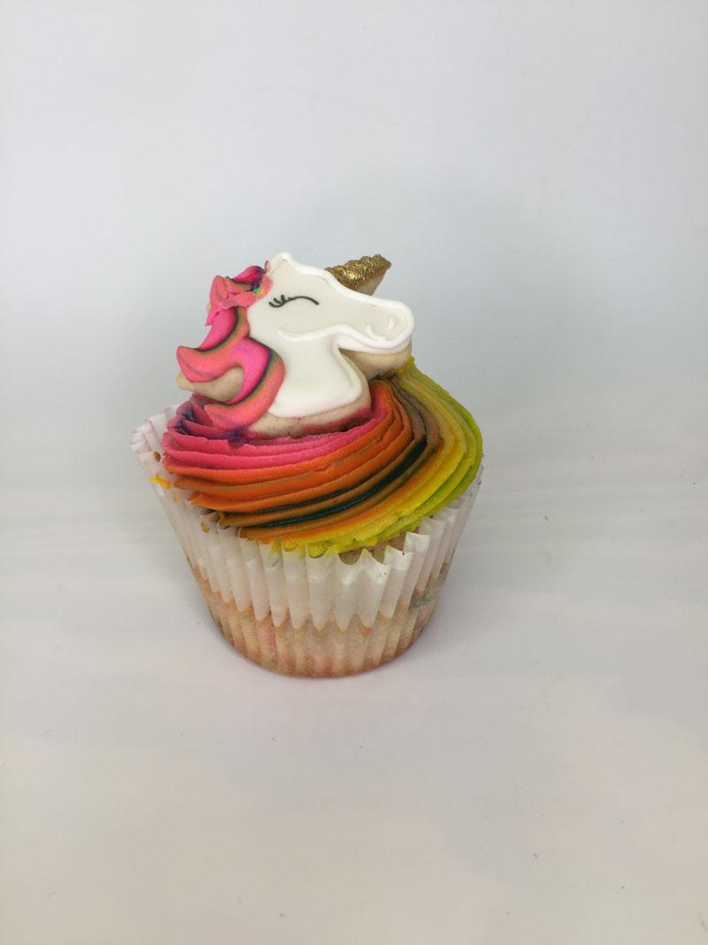 Unicorn Vanilla cupcake