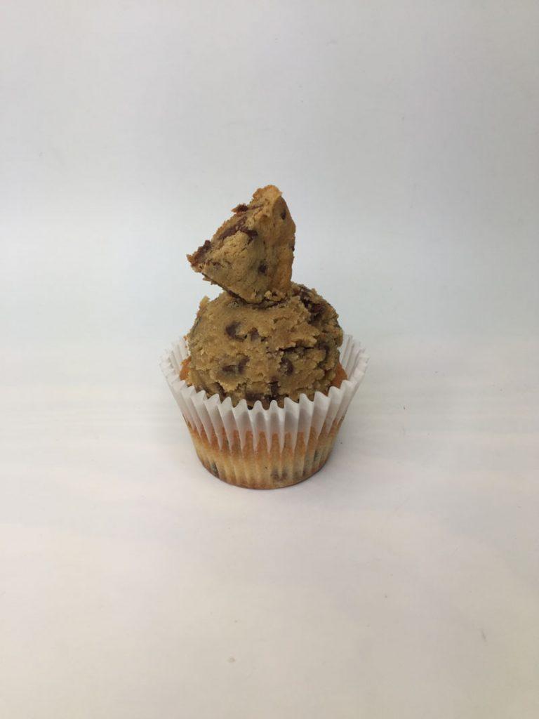 Choco Chip Cookie Dough Cupcake