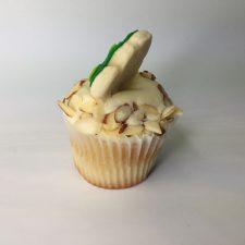 Almond wedding cupcake