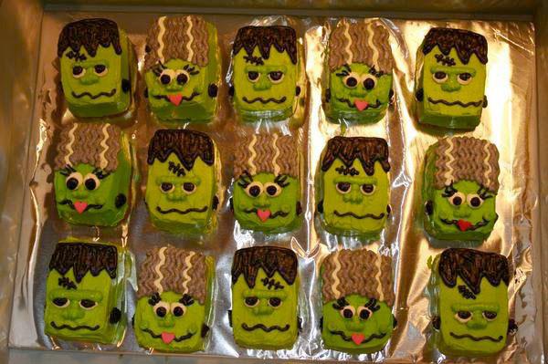 Frankenstein petit fours