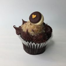 German Choc Cupcake