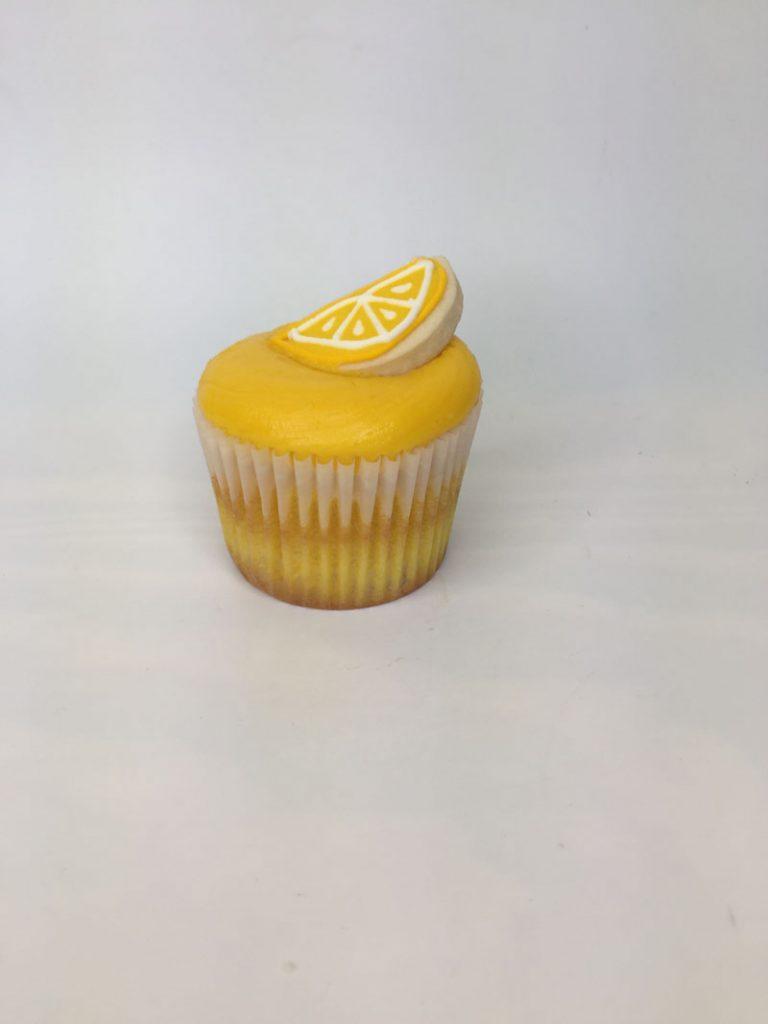 lemon drop cupcake