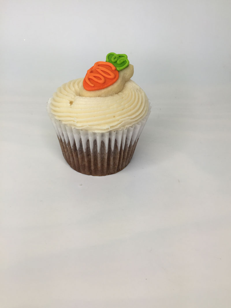 Carrot Cake cookie cupcake