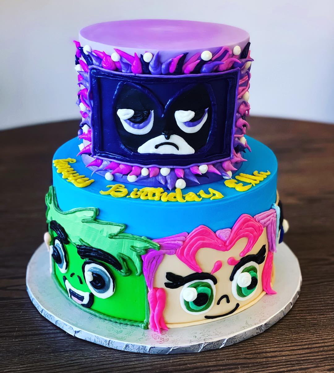 Teen Titans Cake - Hayley Cakes and CookiesHayley Cakes and Cookies