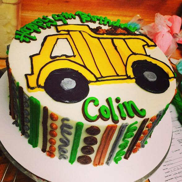 Miraculous Dump Truck Cake Hayley Cakes And Cookieshayley Cakes And Cookies Funny Birthday Cards Online Elaedamsfinfo