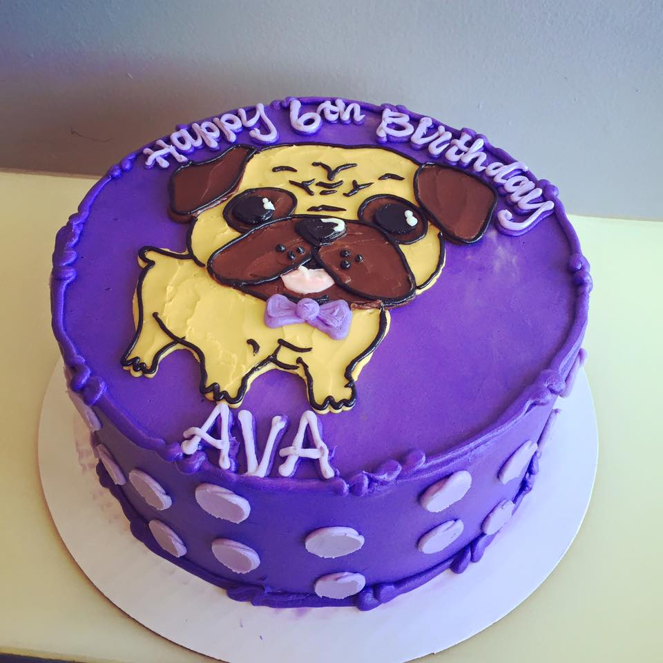 Phenomenal Bowtie Pug Cake Hayley Cakes And Cookieshayley Cakes And Cookies Funny Birthday Cards Online Bapapcheapnameinfo