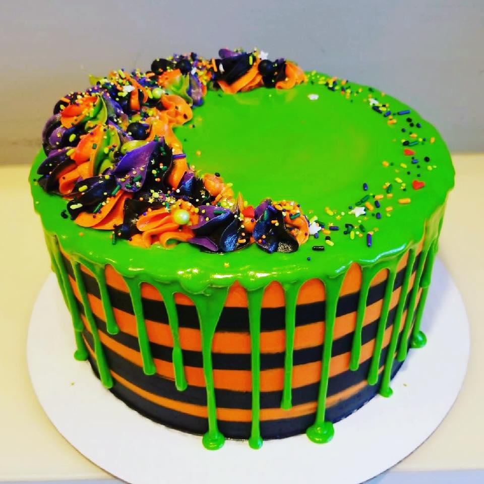 Halloween Drip Cake Hayley Cakes And Cookieshayley Cakes And Cookies