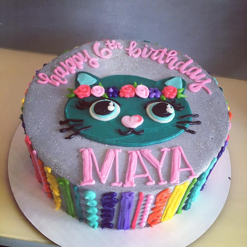 Phenomenal Sparkle Cat Cake Hayley Cakes And Cookieshayley Cakes And Cookies Funny Birthday Cards Online Fluifree Goldxyz