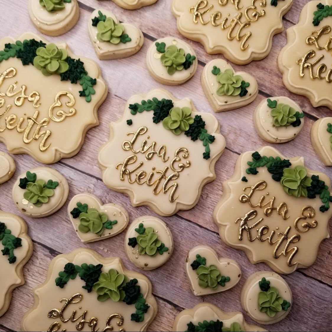 Succulent Plaque Cookies Large Only Hayley Cakes And Cookieshayley Cakes And Cookies