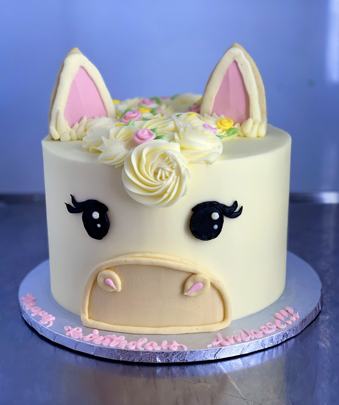 White Horse Cake Hayley Cakes And Cookieshayley Cakes And Cookies