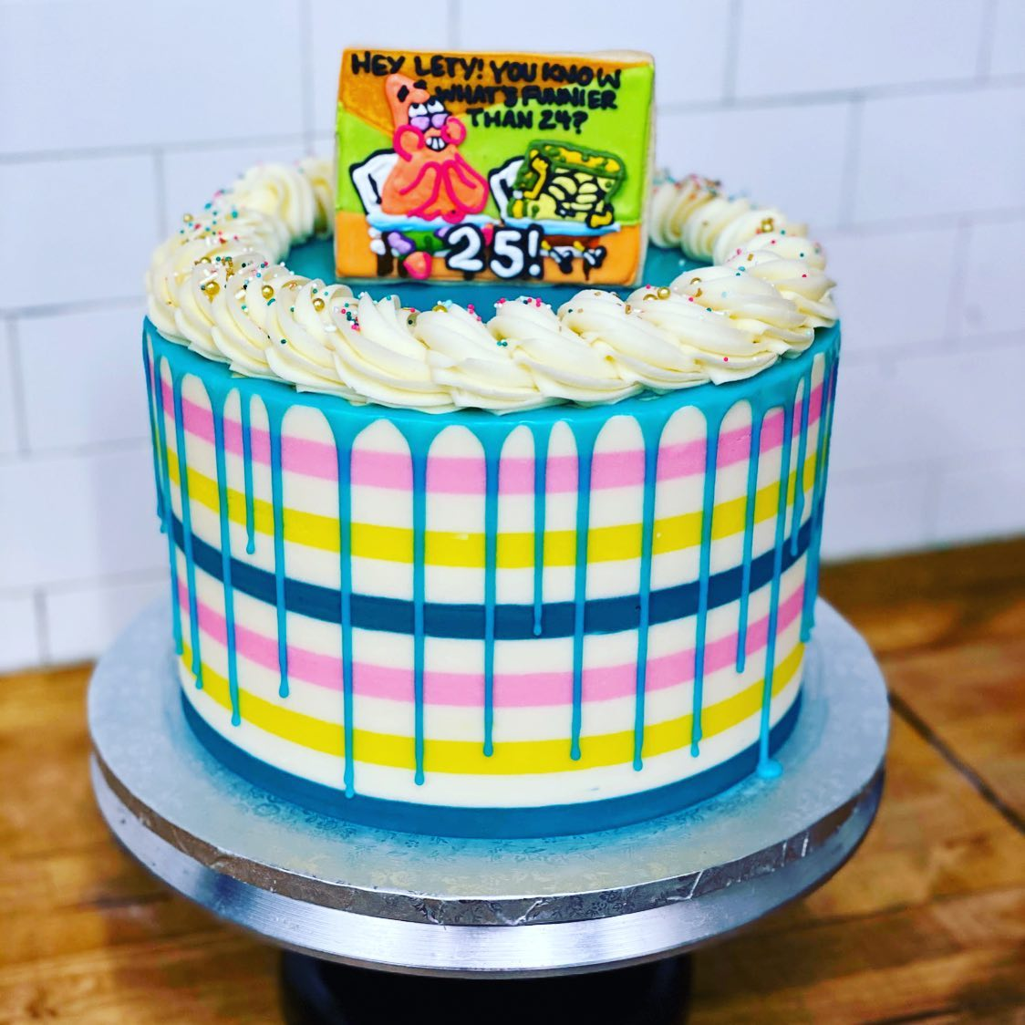 Brilliant Whats Funnier Than 24 Spongebob Birthday Cake Hayley Cakes And Funny Birthday Cards Online Alyptdamsfinfo